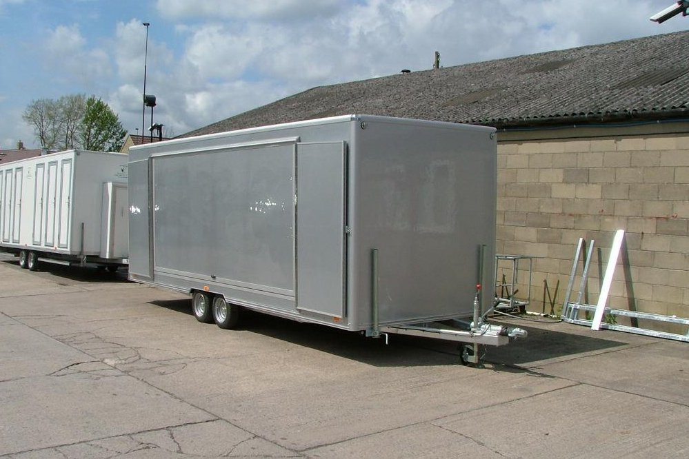 Custom manufacture of portable toilets, cabins and showers